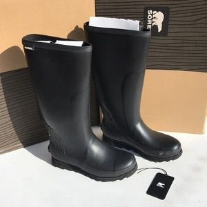 Sorel Joan Rain Tall women's size 8 boots NWB